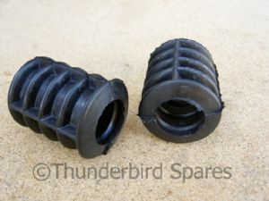 Petrol Tank Mounting Rubber, Pair, For Alloy Tank, Cafe Racers etc